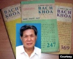 Chủ nhiệm Lê Ngộ Châu và báo Bách Khoa, người chọn đăng truyện ngắn đầu tiên Nước Mắt Tuổi Thơ của Trần Hoài Thư trên Bách Khoa 1964.