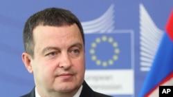 Ivica Dačić, ministar spoljnih poslova Srbije (arhivski snimak)