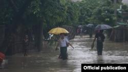 په جنوبي آسیا کې هر کال د جولاۍ او سپتمبر ترمنځ موسمي بارانونه کیږي