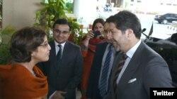 نائب افغان وزیر خارجہ اور پاکستانی سیکرٹری خارجہ نے اپنے اپنے وفود کی سربراہی کی
