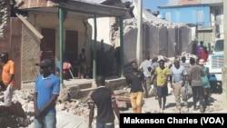 Cenário de destruição, Saint-Louis du Sud, Haiti