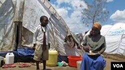 Pengungsi yang berada di kamp darurat, Nakuru, Kenya (foto:dok).