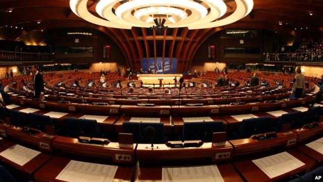 Сессия Парламентской ассамблеи Совета Европы в Страсбурге