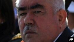 General Abdulrashid Do'stum Afg'oniston vitse-prezidenti, o'zbeklar lideri