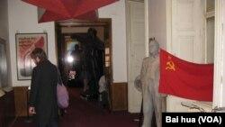 捷克布拉格市中心的共產主義博物館