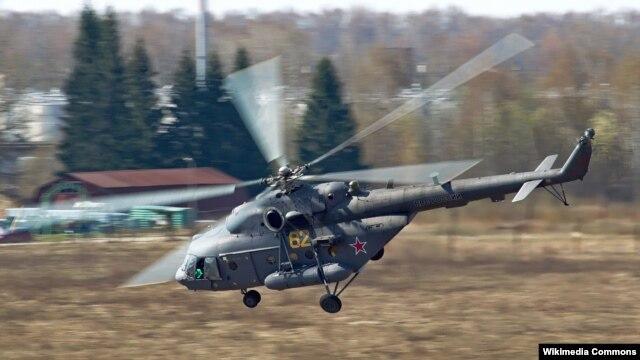 Ảnh minh họa: Trực thăng kiểu Mi-8MTV-5 của Không quân Nga.