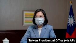 資料照:台灣總統蔡英文