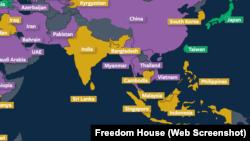 Việt Nam nằm trong nhóm các quốc gia không có tự do internet, dẫn đầu là Trung Quốc, theo đánh giá của Freedom House trong một báo cáo mới được đưa ra trong tháng này.