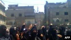 Антиурядовий протест у Сирії