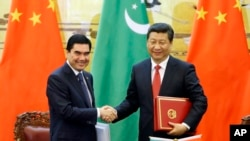 12 травня президенти Китаю та Туркменістану підписали газову угоду