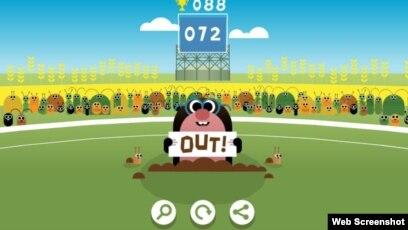 Google Doodle Celebrates Cricket Tournament