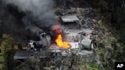 지난 2010년 뉴질랜드 파이크강 주변 탄광에서 발생한 폭발사고.