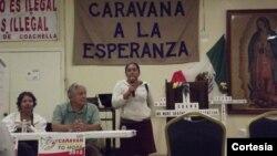 """Caravana """"Abriendo puertas a la esperanza"""" ha recorrido más de 20 ciudades en EE.UU. y finalizará en Nueva Jersey.[Foto: Cortesía, organizadores de la caravana]."""