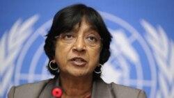 ناوی پيلای، کميسير عالی سازمان ملل متحد در امور حقوق بشر، از نحوه برخورد بحرین با معترضان ابراز نارضایتی کرد
