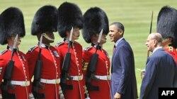 ABŞ prezidenti Barak Obama Londondadır