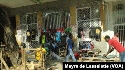 Rua de Maputo. Moçambique