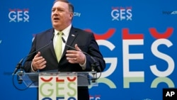 Global Entrepreneurship Summit, Netherlands Pompeo. (June 3, 2019)