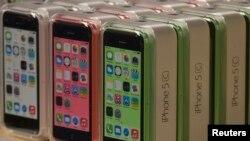 苹果新生产的iPhone 5C