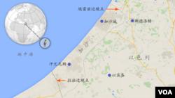 加沙及埃雷兹边界通道