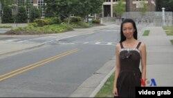 徐婧曾在北卡讀碩士