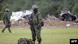В Литве столкнулись истребители