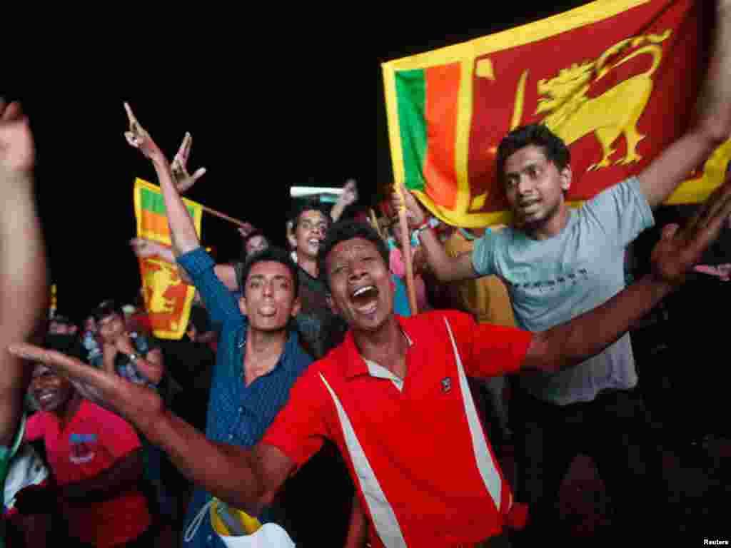 سری لنکا نے پہلی بار عالمی ٹی ٹوئنٹی کرکٹ کپ جیت لیا