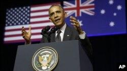 جمهور رئیس اوباما وایي د جنگ دپاره دامریکایي سرتیرو د استولو مسله پر حالاتو پورځ اړه لري.