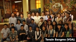 Sarah students and teachers with Tibetan Prime Minister Lobsang Sangay