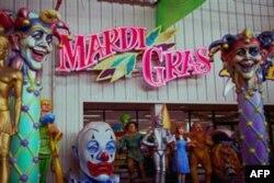 Mardi Gra festivaliga oz qoldi