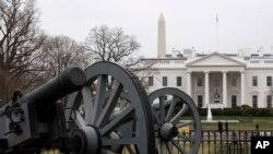 واشنگٹن ڈی سی میں واقع وائٹ ہاؤس کا ایک منظر