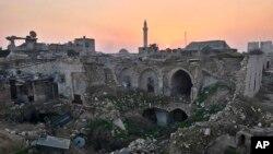 Hələb şəhərinin görünüşü