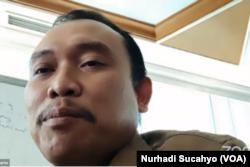 Joko Sunarto, Wakil Kepala Divisi Regional Perhutani Jawa Timur. (Foto: VOA/Nurhadi Sucahyo)