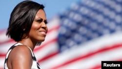 FILE - U.S. First Lady Michelle Obama.
