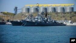 عکس آرشیوی از ناوگان دریای سیاه نیروی دریایی ارتش روسیه
