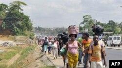 Dân Côte d'Ivoire tản cư
