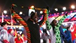 Départ des athlètes guinéens pour les jeux olympiques de Tokyo