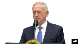 امریکی وزیر دفاع جم میٹس۔ فائل فوٹو