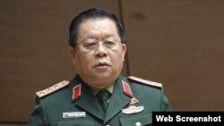 Ông Nguyễn Trọng Nghĩa phát biểu tại kỳ họp Quốc hội tháng 10/2019. Photo PLO.