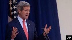 Menlu AS John Kerry memuji langkah Qatar dalam membantu upaya anti-teroris di Timur Tengah (foto: dok).