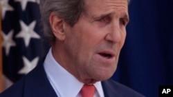John Kerry, sakataren harkokin wajen Amurka.