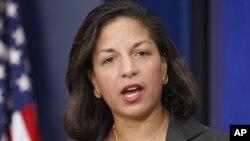 Susan Rice a fait savoir qu'elle ne chercherait plus à remplacer Hillary Clinton au département d'Etat