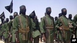 Thành viên nhóm al-Shabab