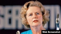 Cựu Thủ tướng Anh Margaret Thatcher.
