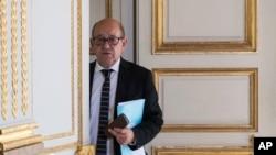 ژان ایو لودریان وزیر خارجه فرانسه - آرشیو