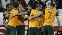 دومین گول آسترالیا در بازی نیمه نهایی