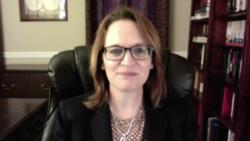 特朗普的南亞與中亞問題顧問柯蒂斯(Lisa Curtis)。