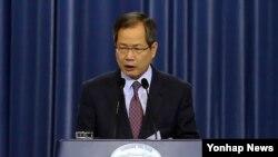 천영우 청와대 외교안보수석 비서관. (자료사진)