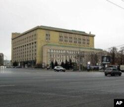 莫斯科的俄罗斯联邦安全局大楼
