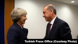 Recep Tayyip Erdoğan ve İngiltere Başbakanı Theresa May son olarak New York'ta görüşmüştü