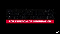 ស្លាកសញ្ញាអង្គការអ្នកសារព័ត៌មានគ្មានព្រំដែន (Reporters sans frontière)។